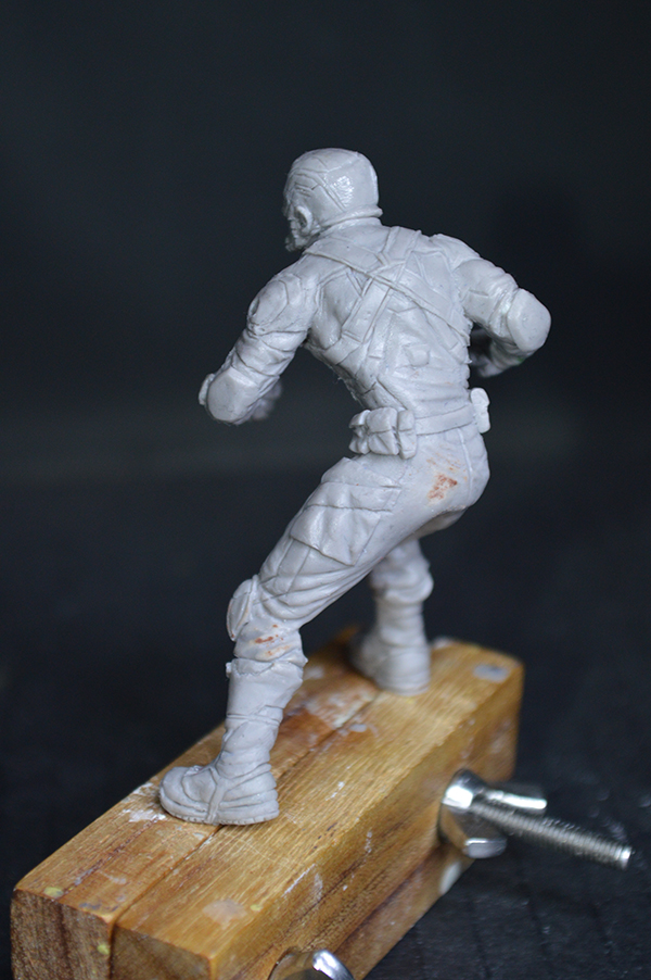 Captain america 75mm Figurine75mm.55
