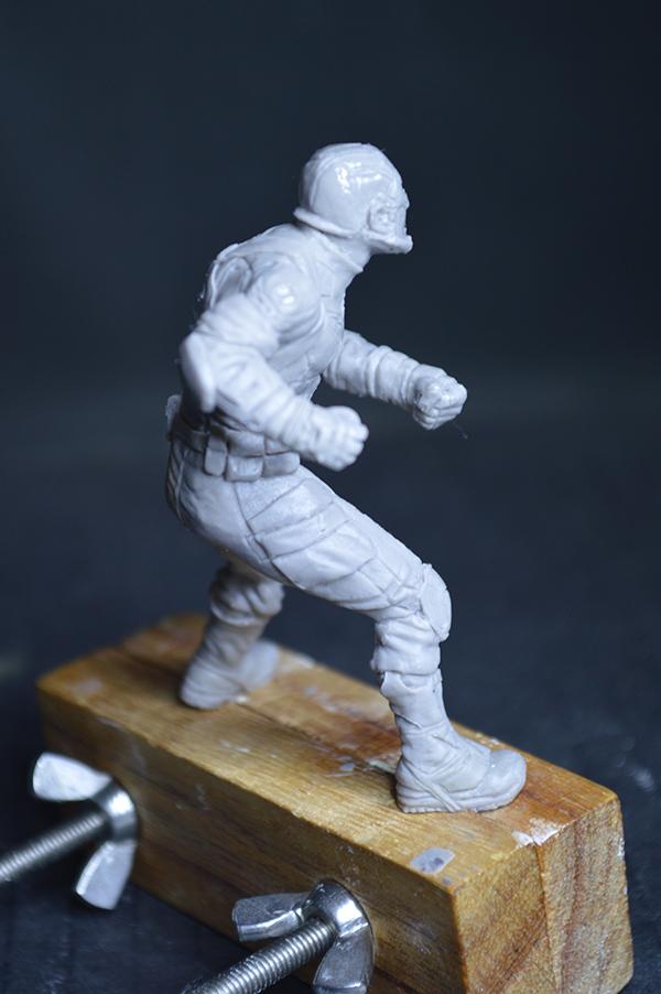 Captain america 75mm Figurine75mm.57