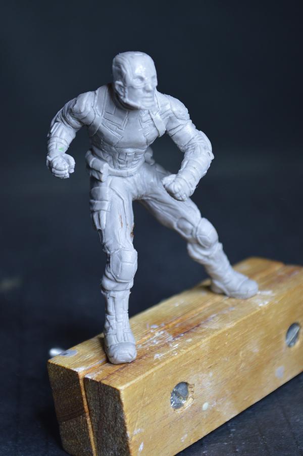 Captain america 75mm Figurine75mm.59