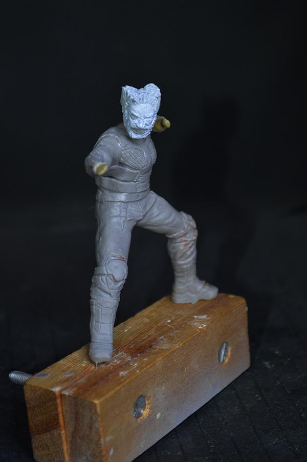 Sculpture Wolverine 75mm jour d'un avenir passé Wolverine.75mm.10