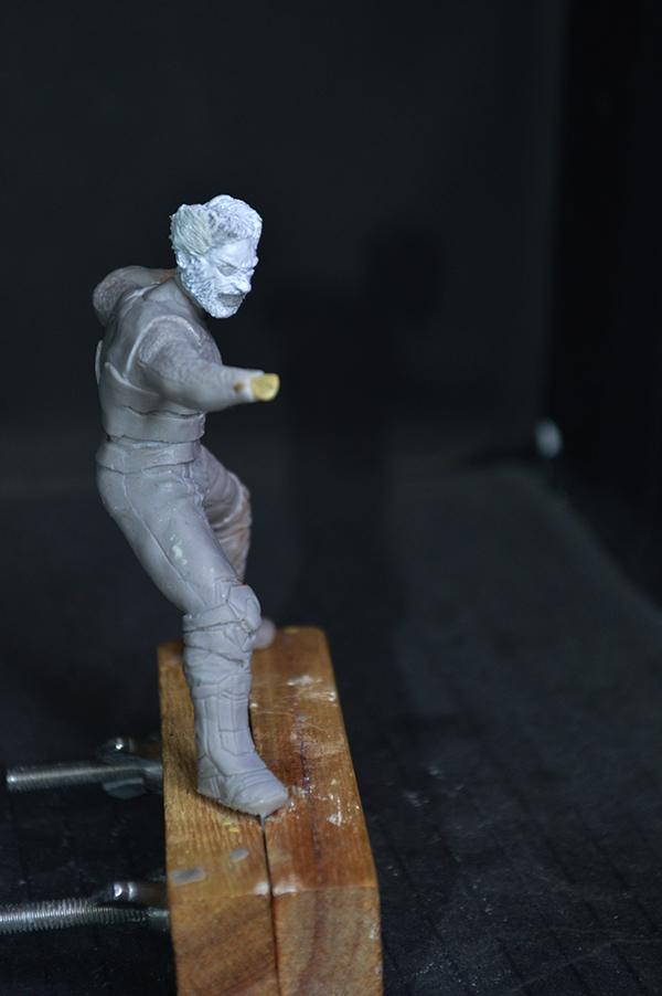Sculpture Wolverine 75mm jour d'un avenir passé Wolverine.75mm.11