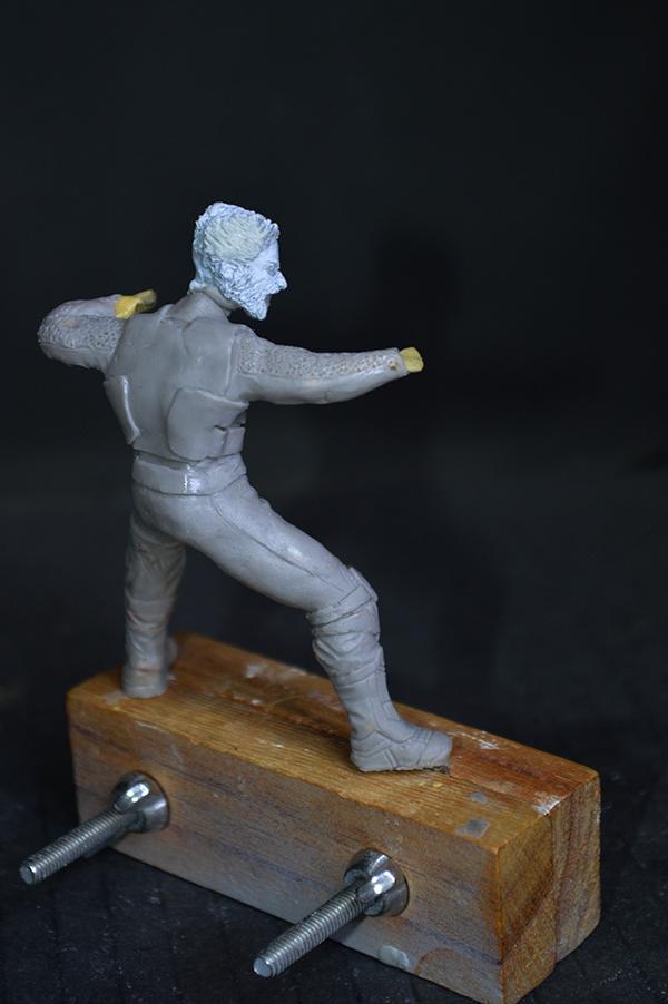 Sculpture Wolverine 75mm jour d'un avenir passé Wolverine.75mm.12