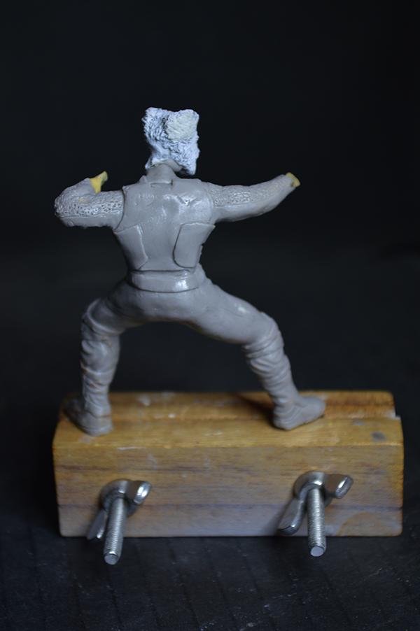 Sculpture Wolverine 75mm jour d'un avenir passé Wolverine.75mm.13