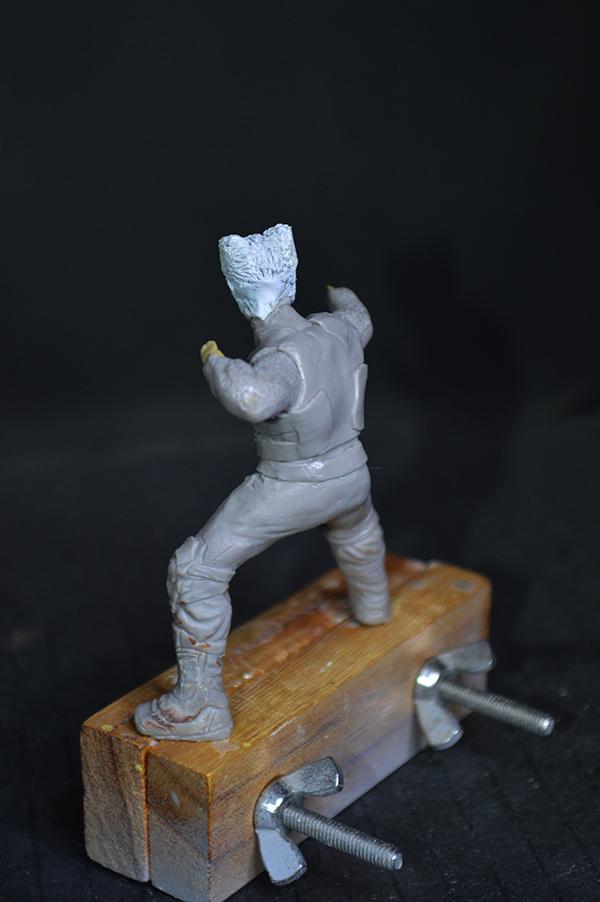 Sculpture Wolverine 75mm jour d'un avenir passé Wolverine.75mm.14