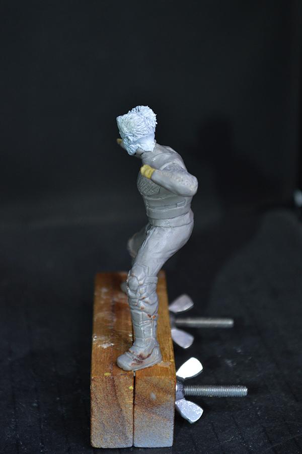 Sculpture Wolverine 75mm jour d'un avenir passé Wolverine.75mm.15