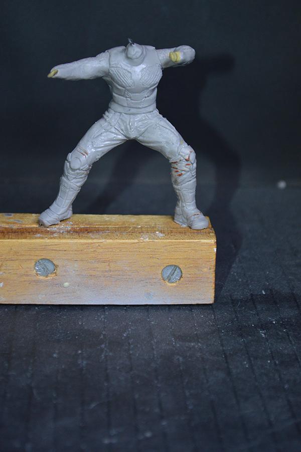 Sculpture Wolverine 75mm jour d'un avenir passé Wolverine.75mm.20
