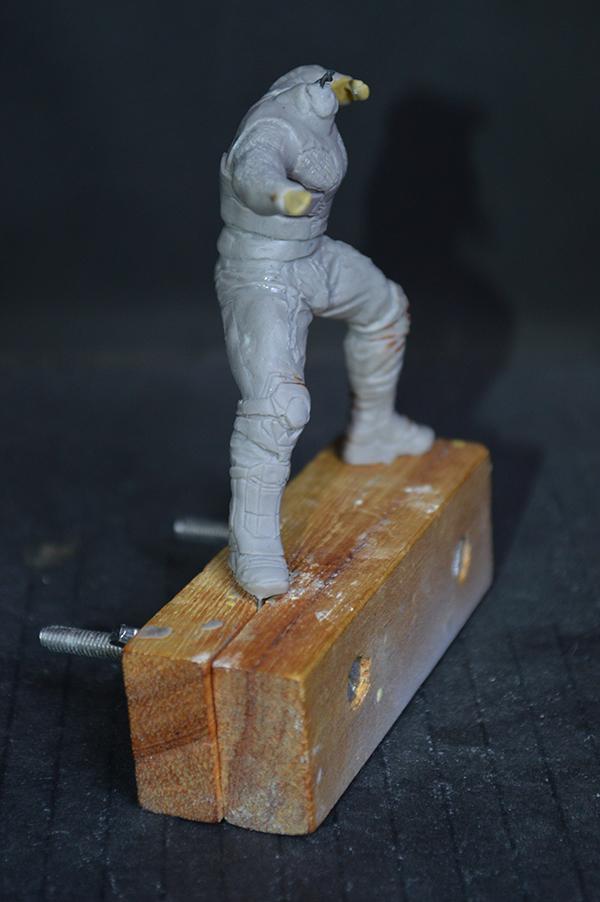 Sculpture Wolverine 75mm jour d'un avenir passé Wolverine.75mm.21