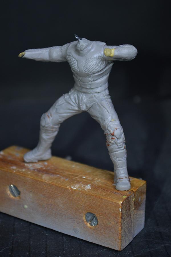 Sculpture Wolverine 75mm jour d'un avenir passé Wolverine.75mm.24