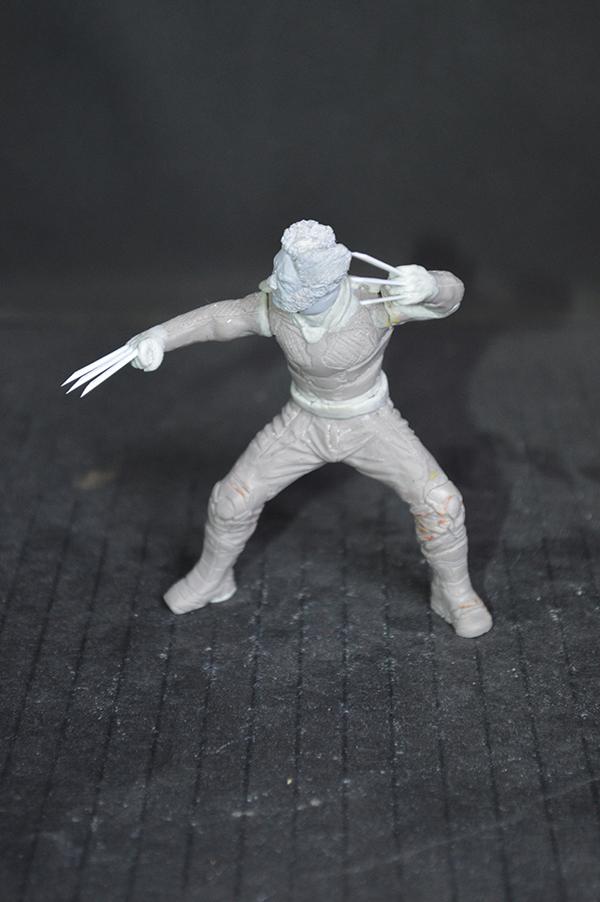 Sculpture Wolverine 75mm jour d'un avenir passé Wolverine.75mm.26
