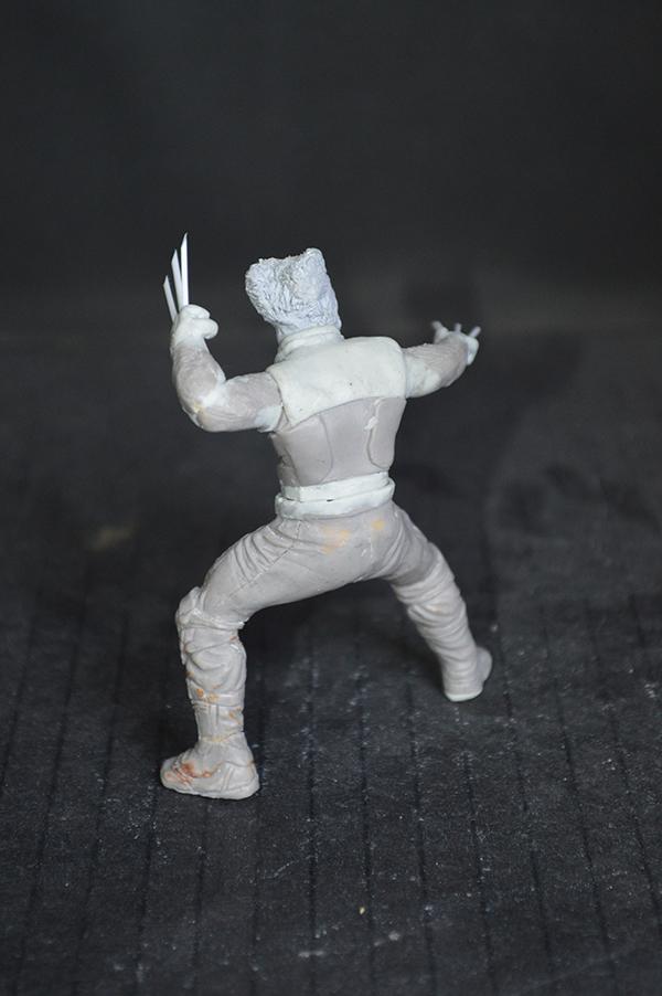 Sculpture Wolverine 75mm jour d'un avenir passé Wolverine.75mm.28