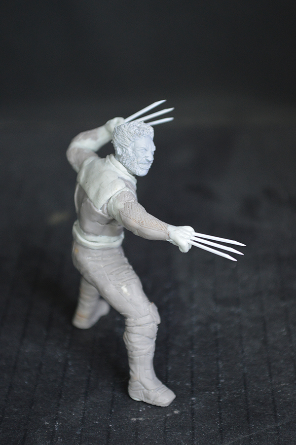 Sculpture Wolverine 75mm jour d'un avenir passé Wolverine.75mm.29