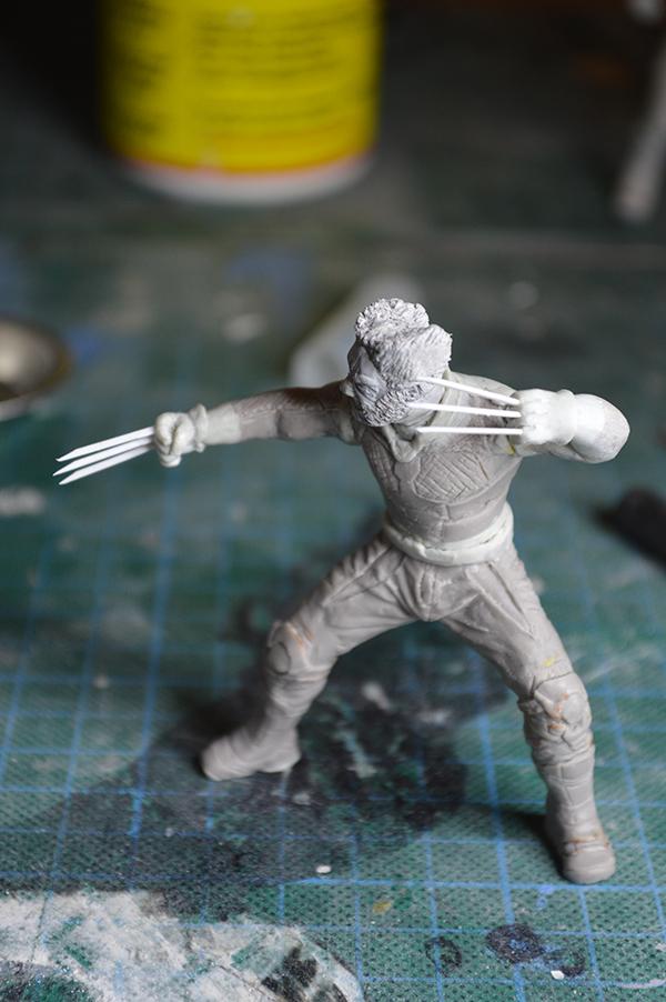 Sculpture Wolverine 75mm jour d'un avenir passé Wolverine.75mm.33