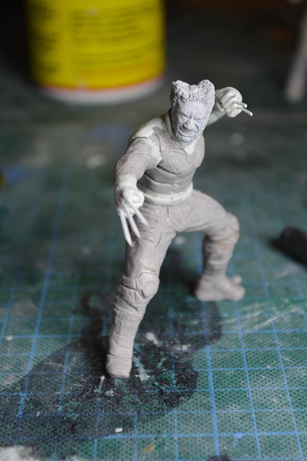 Sculpture Wolverine 75mm jour d'un avenir passé Wolverine.75mm.34