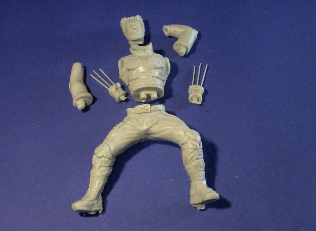 Sculpture Wolverine 75mm jour d'un avenir passé WolverineReplique