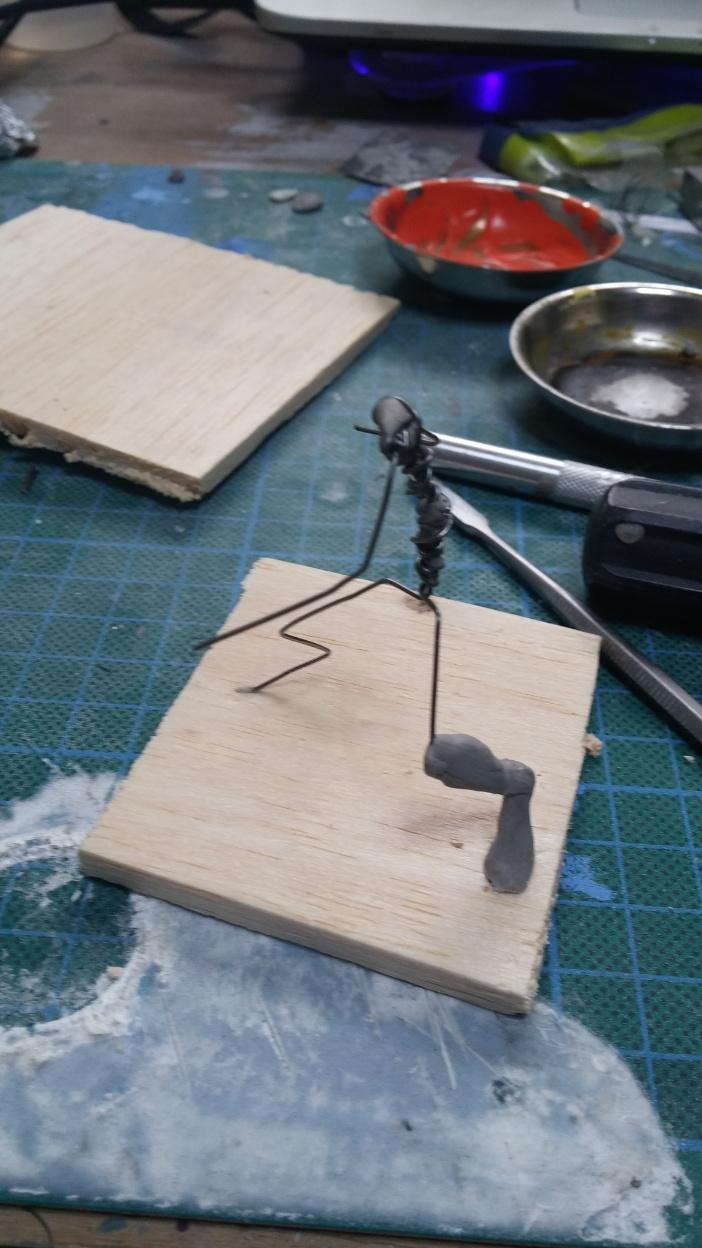 Mutant Velociraptor 6cm MiniSculpture01