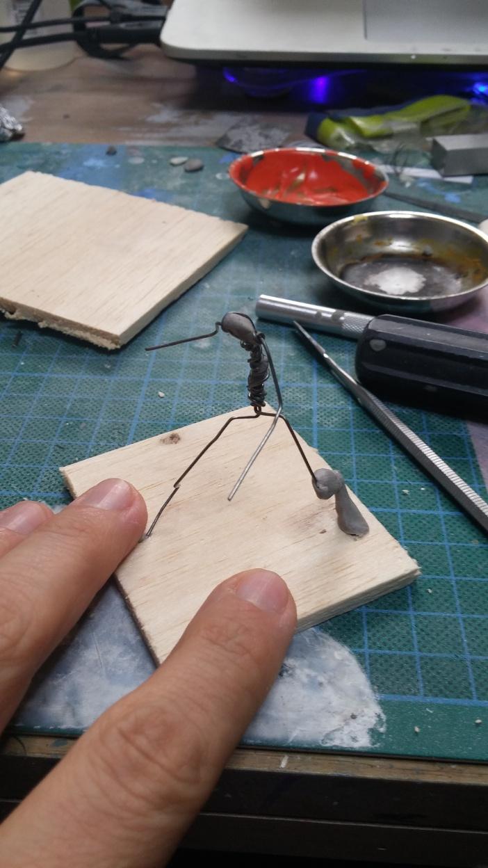 Mutant Velociraptor 6cm MiniSculpture05