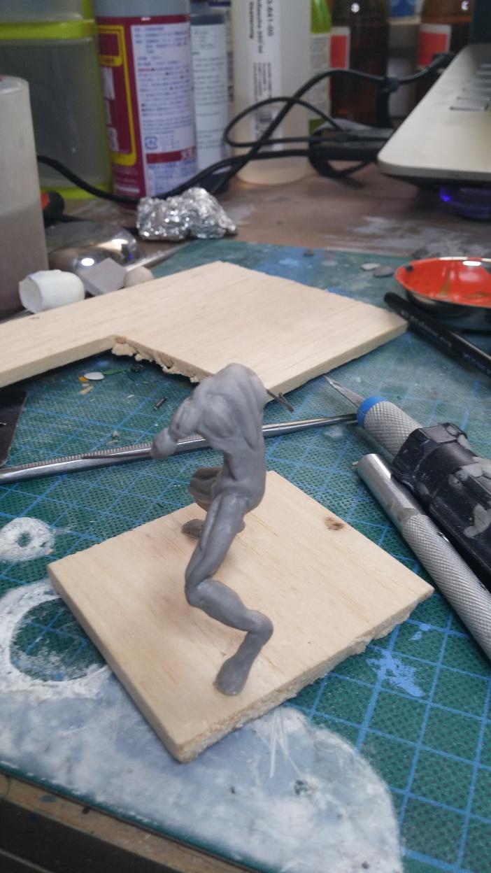 Mutant Velociraptor 6cm MiniSculpture07