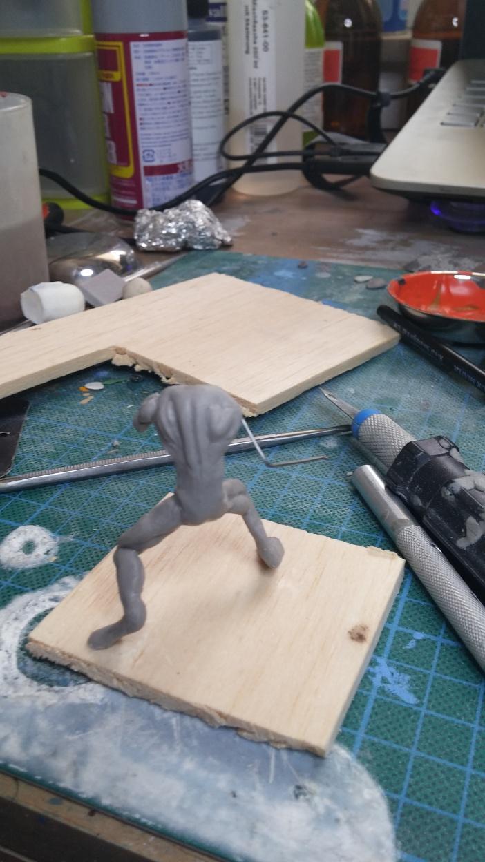Mutant Velociraptor 6cm MiniSculpture08