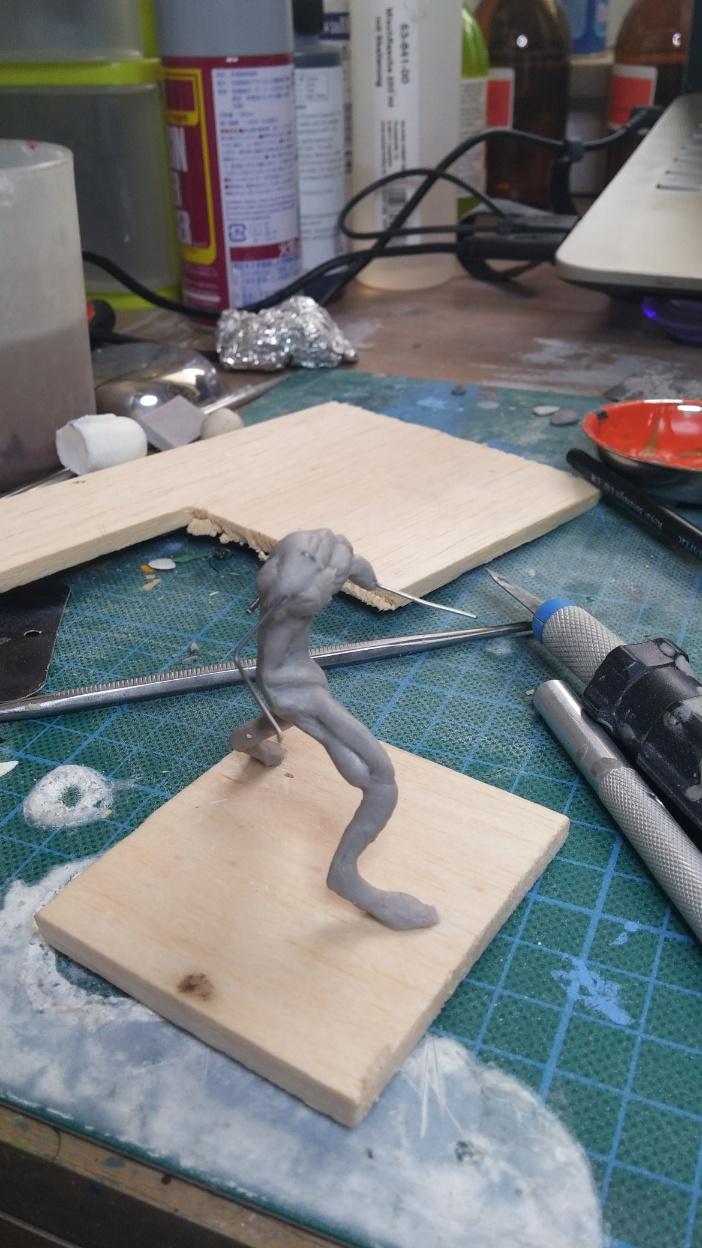 Mutant Velociraptor 6cm MiniSculpture09
