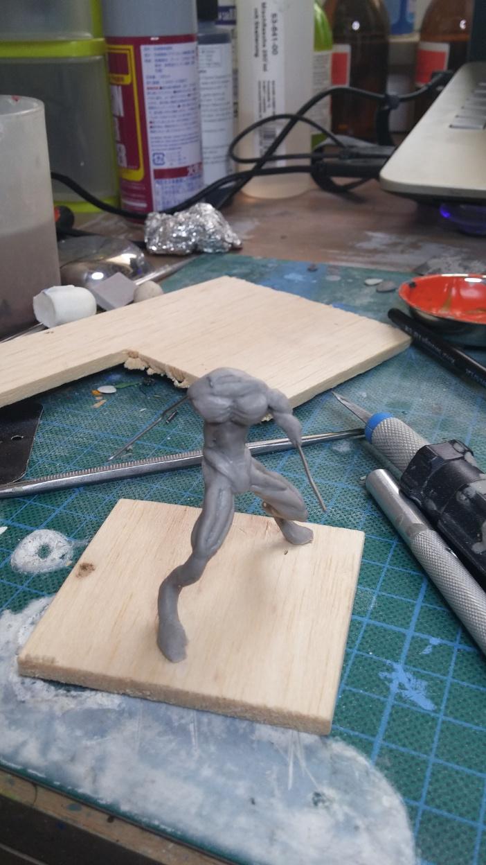 Mutant Velociraptor 6cm MiniSculpture10