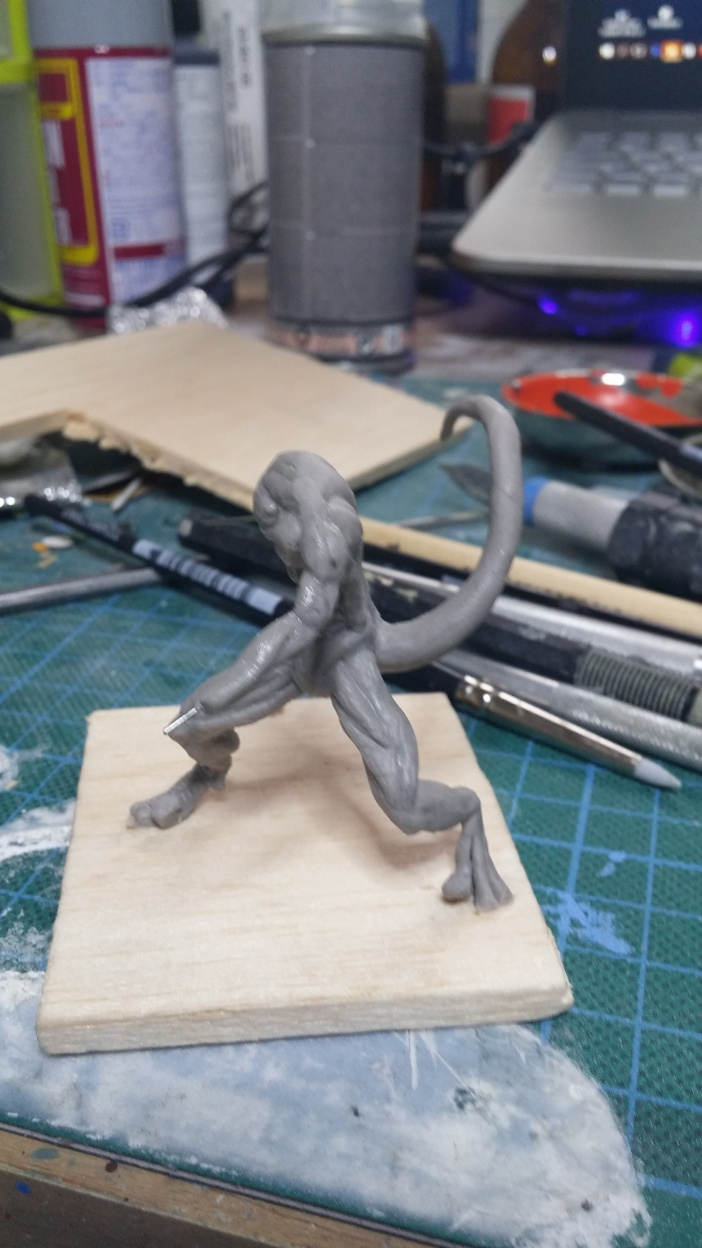 Mutant Velociraptor 6cm MiniSculpture17