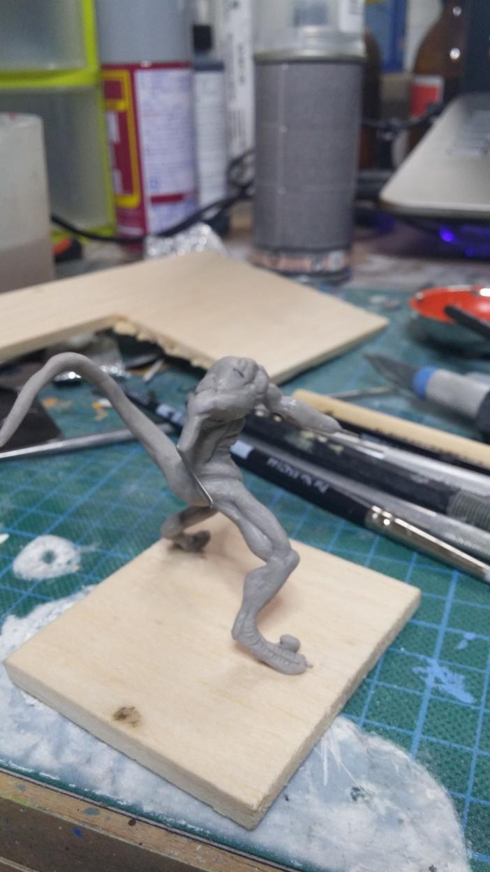Mutant Velociraptor 6cm MiniSculpture19
