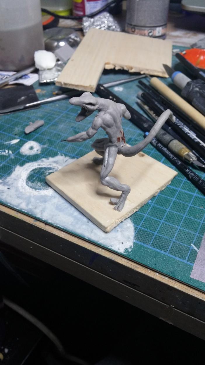 Mutant Velociraptor 6cm MiniSculpture20