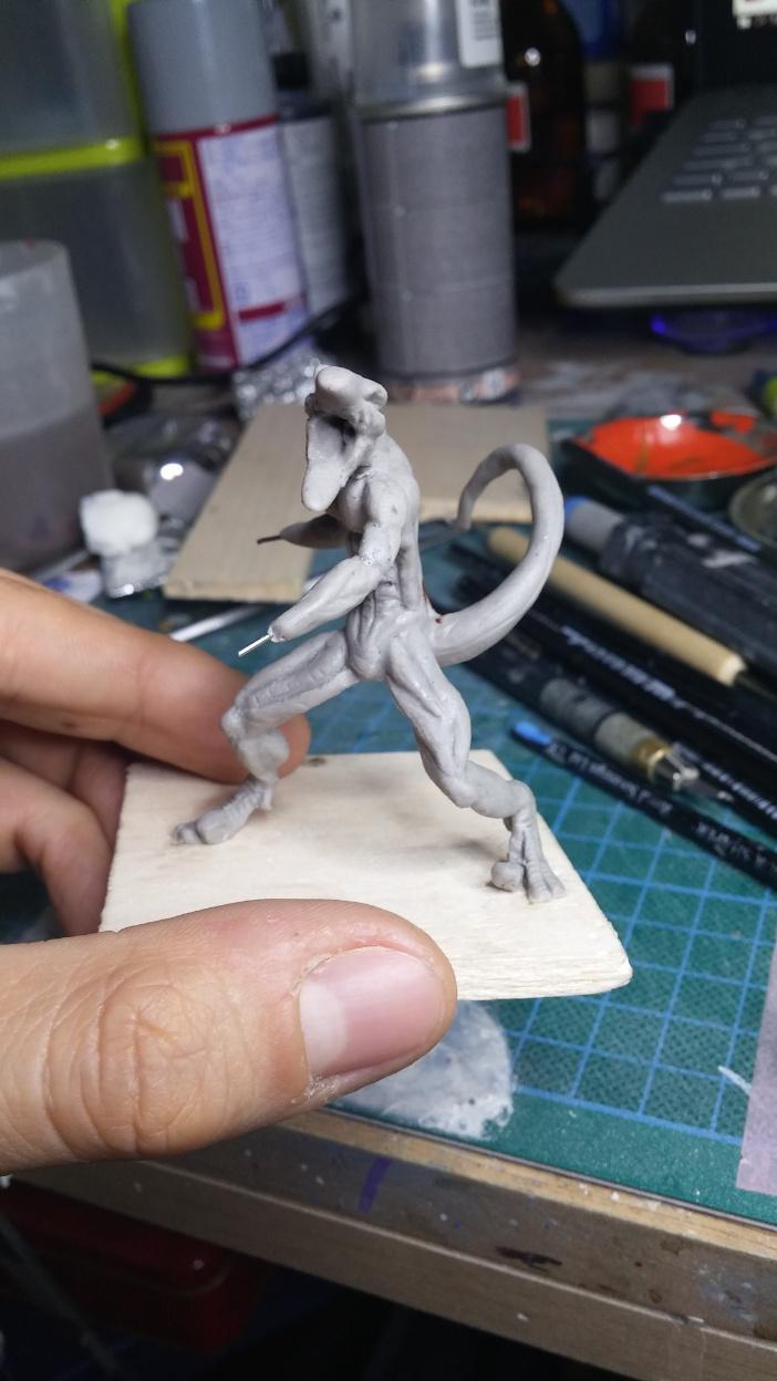 Mutant Velociraptor 6cm MiniSculpture25