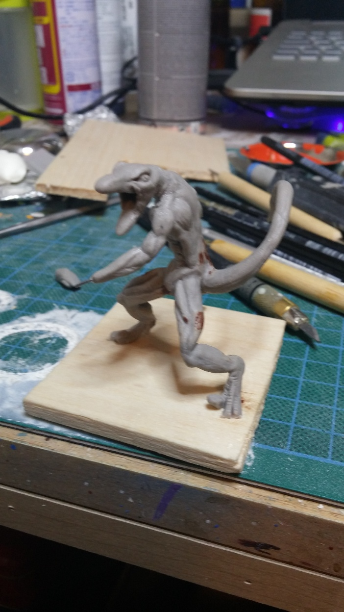 Mutant Velociraptor 6cm MiniSculpture26