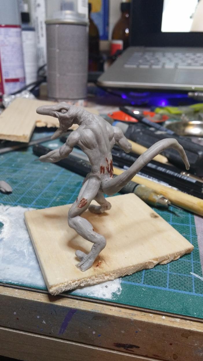Mutant Velociraptor 6cm MiniSculpture27