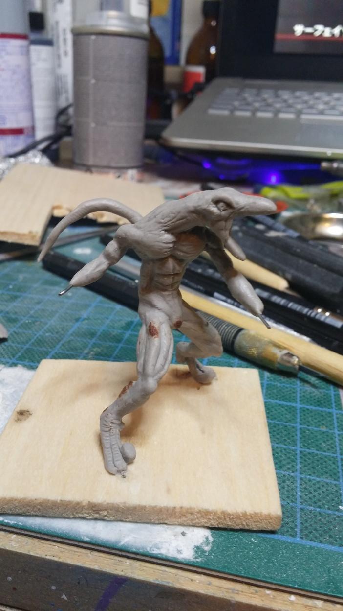 Mutant Velociraptor 6cm MiniSculpture30