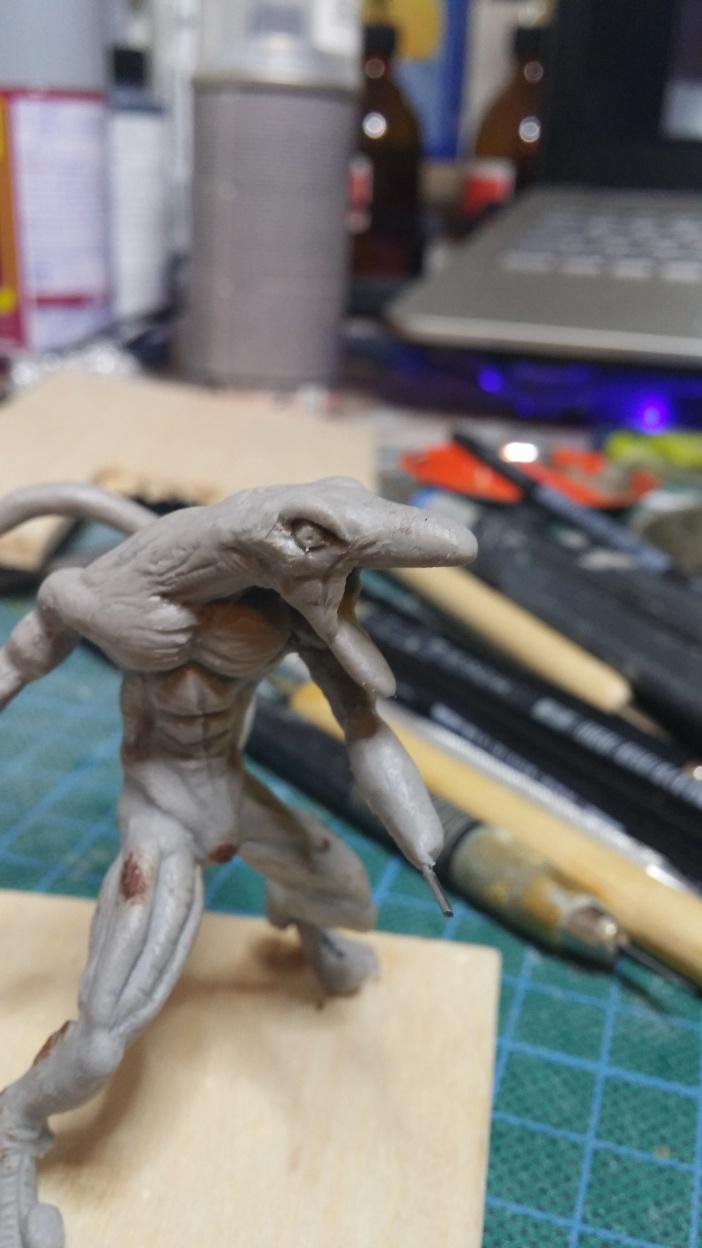 Mutant Velociraptor 6cm MiniSculpture31