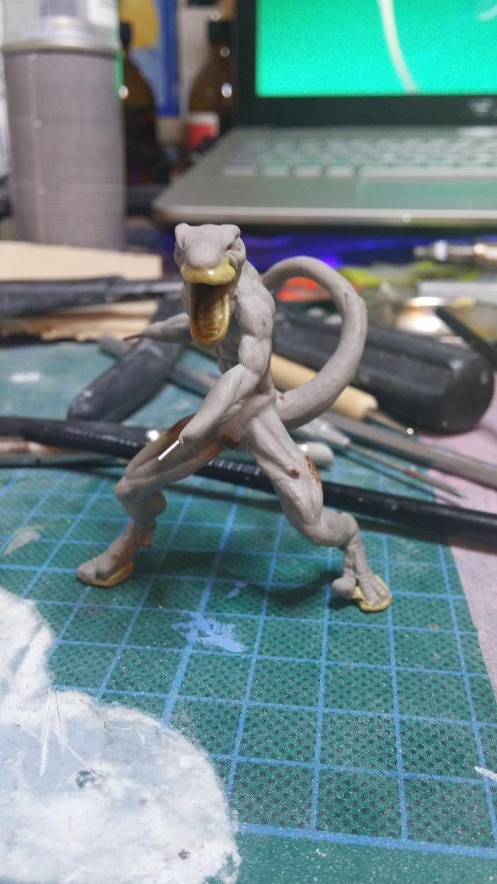 Mutant Velociraptor 6cm MiniSculpture33