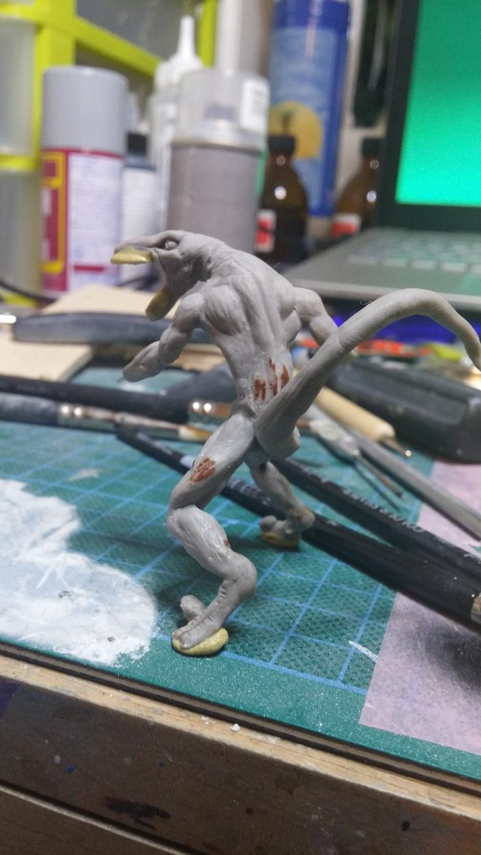Mutant Velociraptor 6cm MiniSculpture34