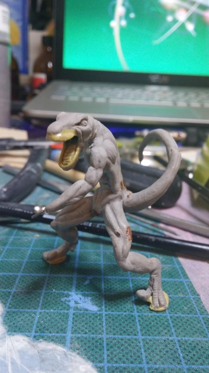 Mutant Velociraptor 6cm MiniSculpture38