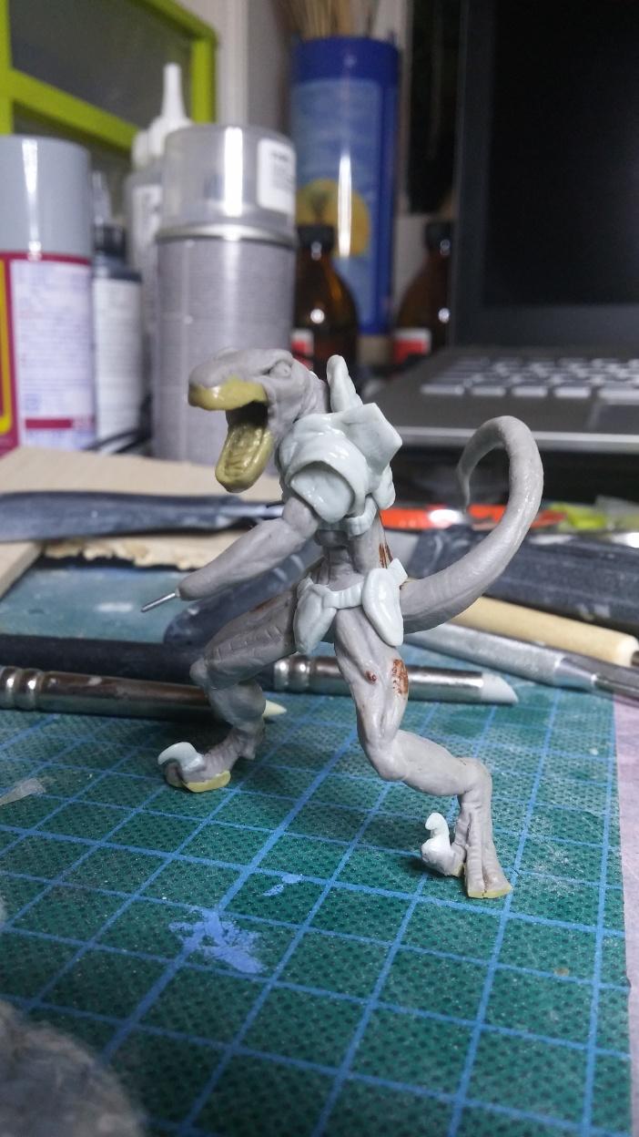 Mutant Velociraptor 6cm MiniSculpture39