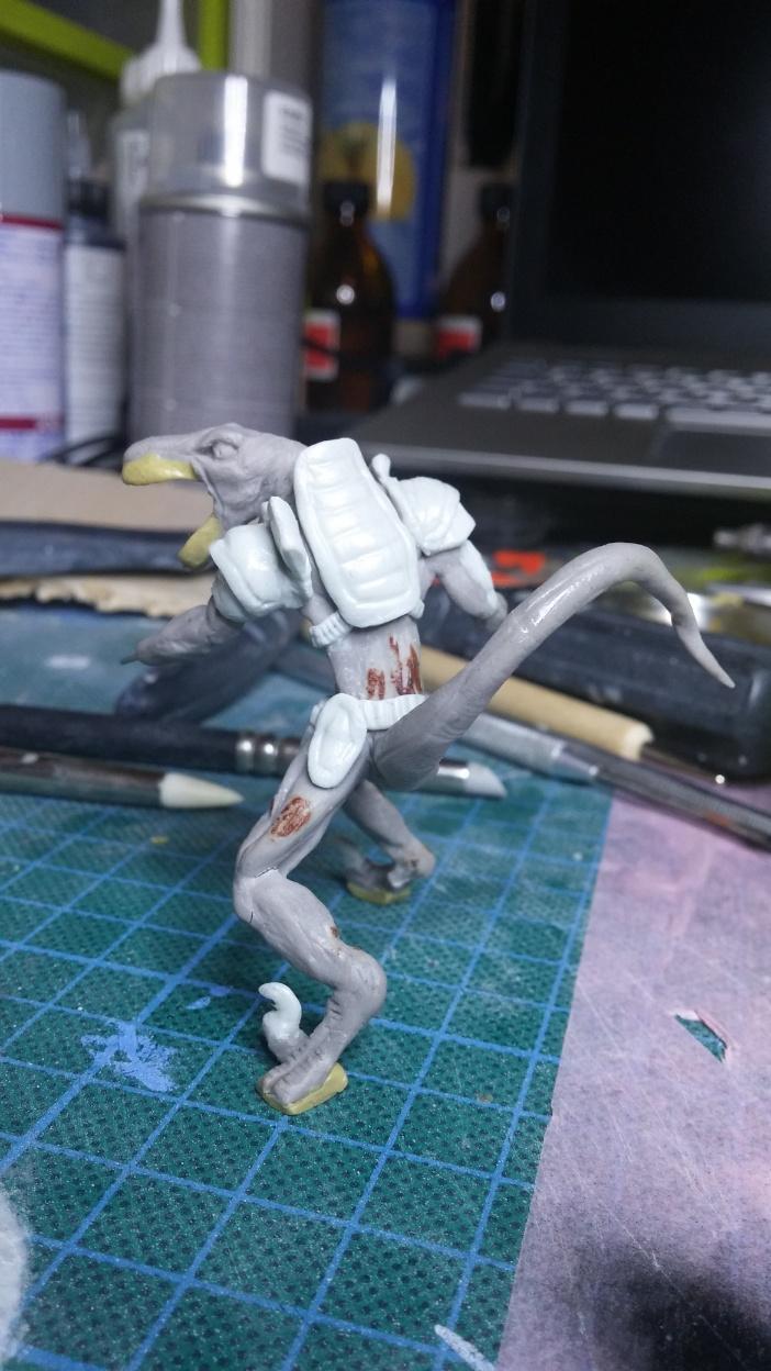 Mutant Velociraptor 6cm MiniSculpture40
