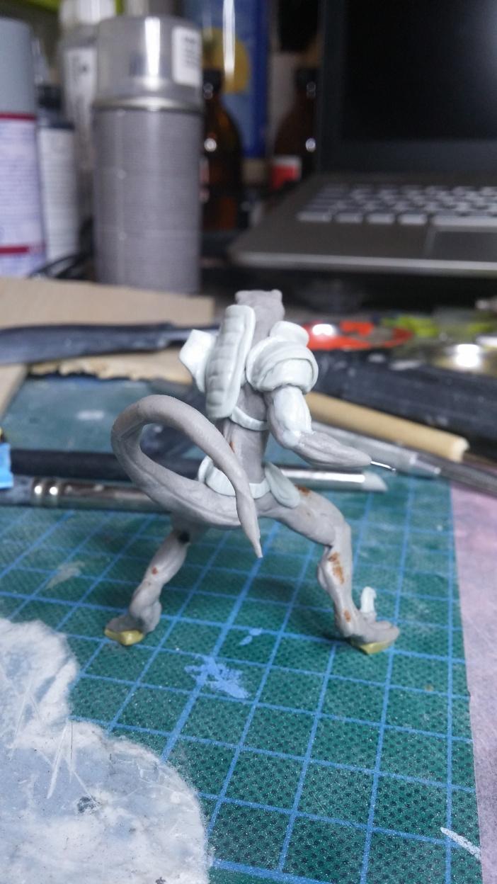 Mutant Velociraptor 6cm MiniSculpture41