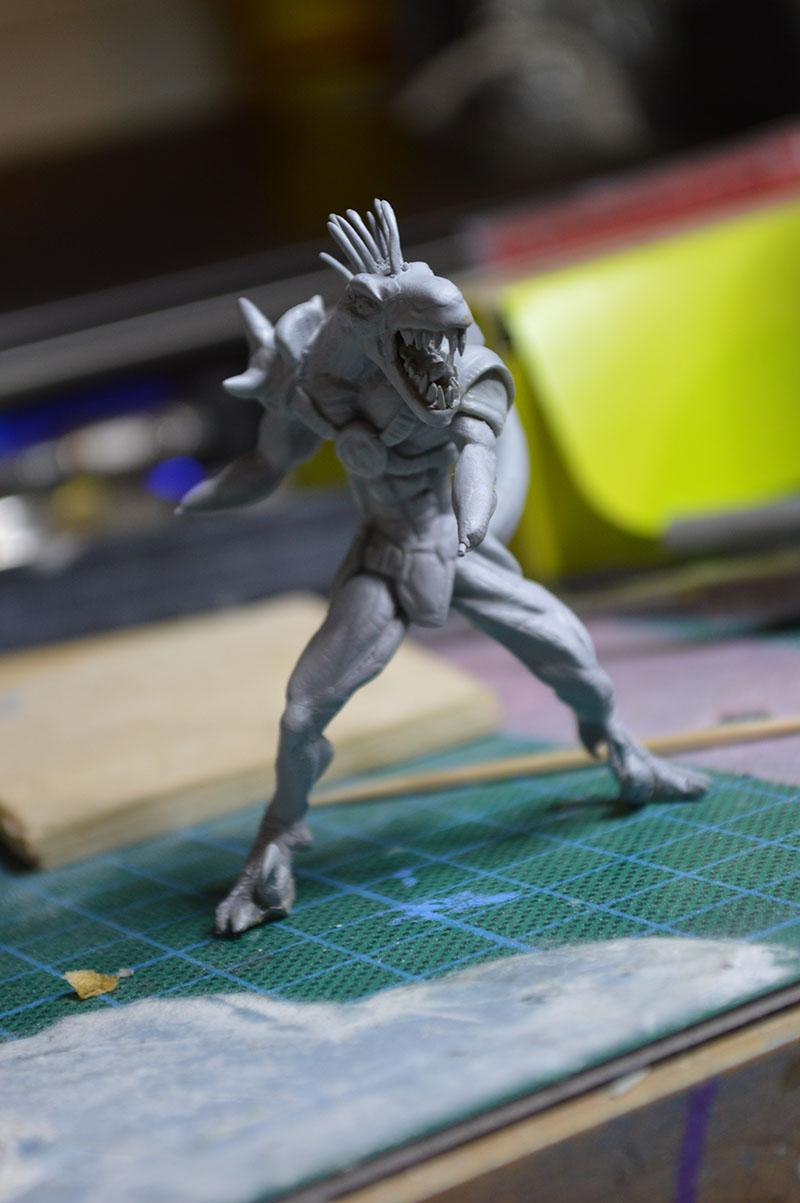 Mutant Velociraptor 6cm MiniSculpture44