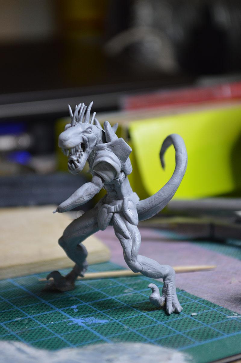 Mutant Velociraptor 6cm MiniSculpture49
