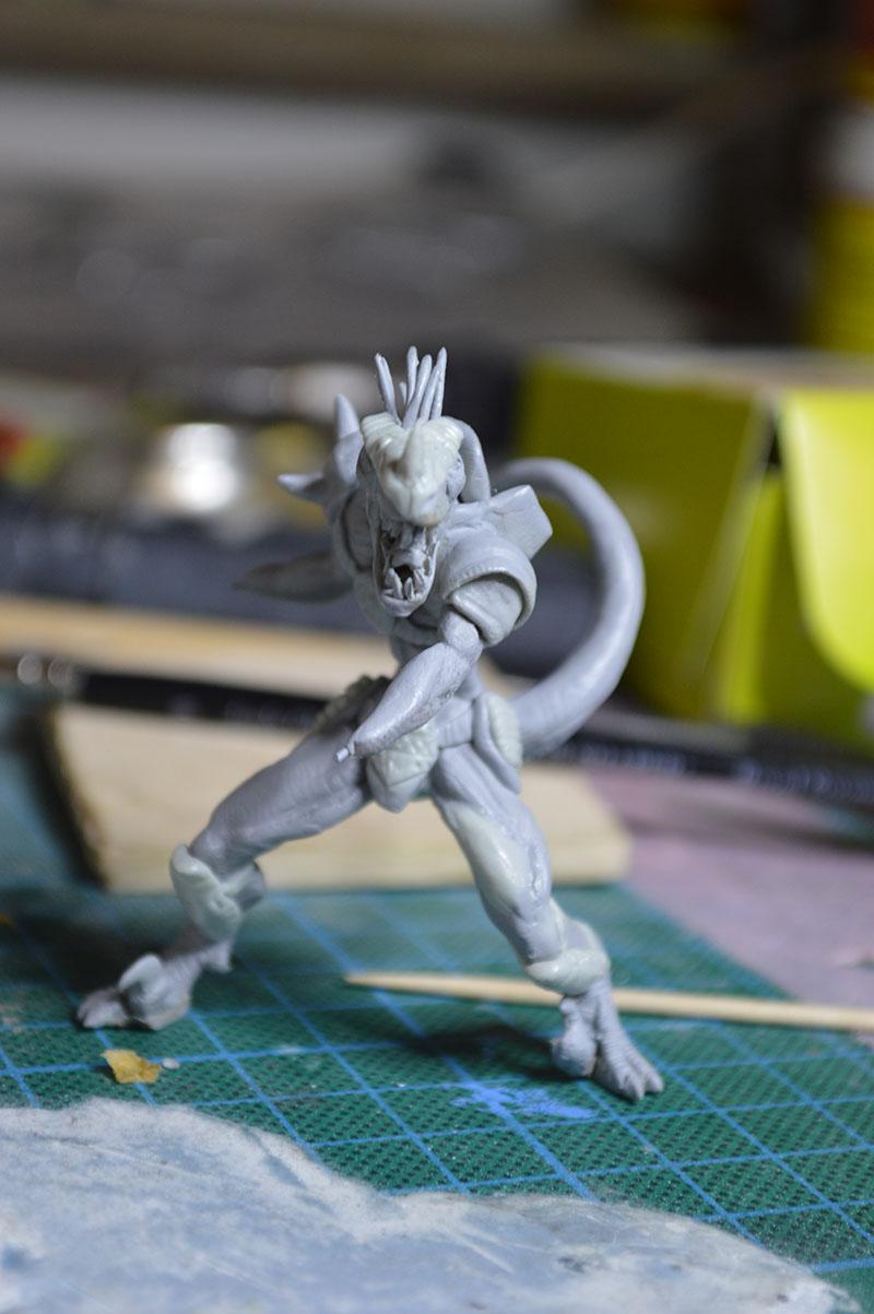 Mutant Velociraptor 6cm MiniSculpture50