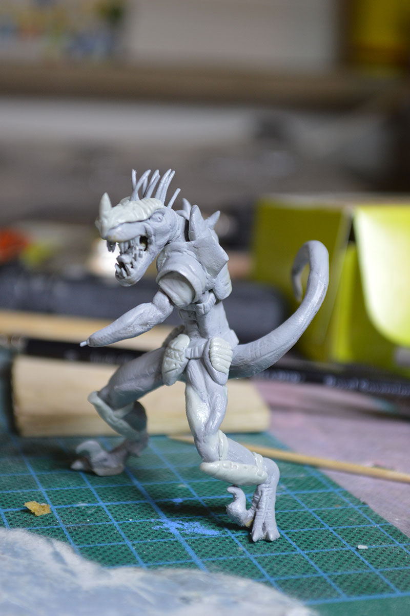 Mutant Velociraptor 6cm MiniSculpture51