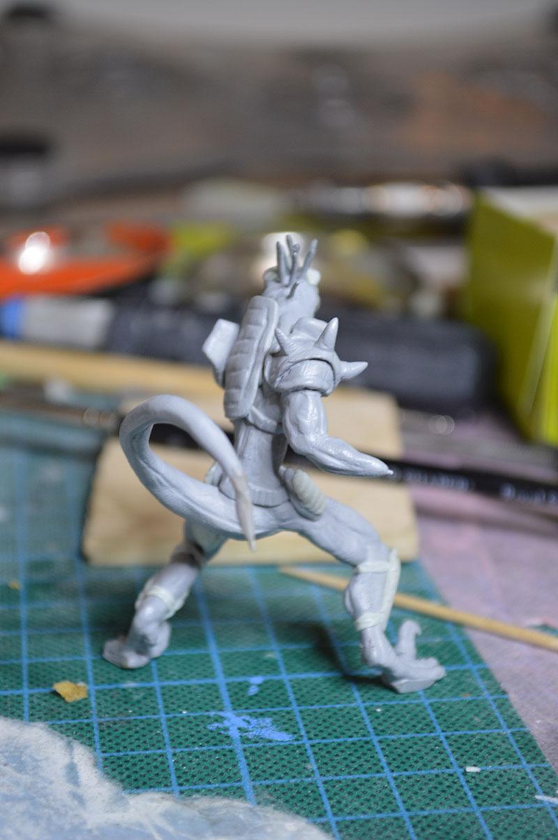 Mutant Velociraptor 6cm MiniSculpture53