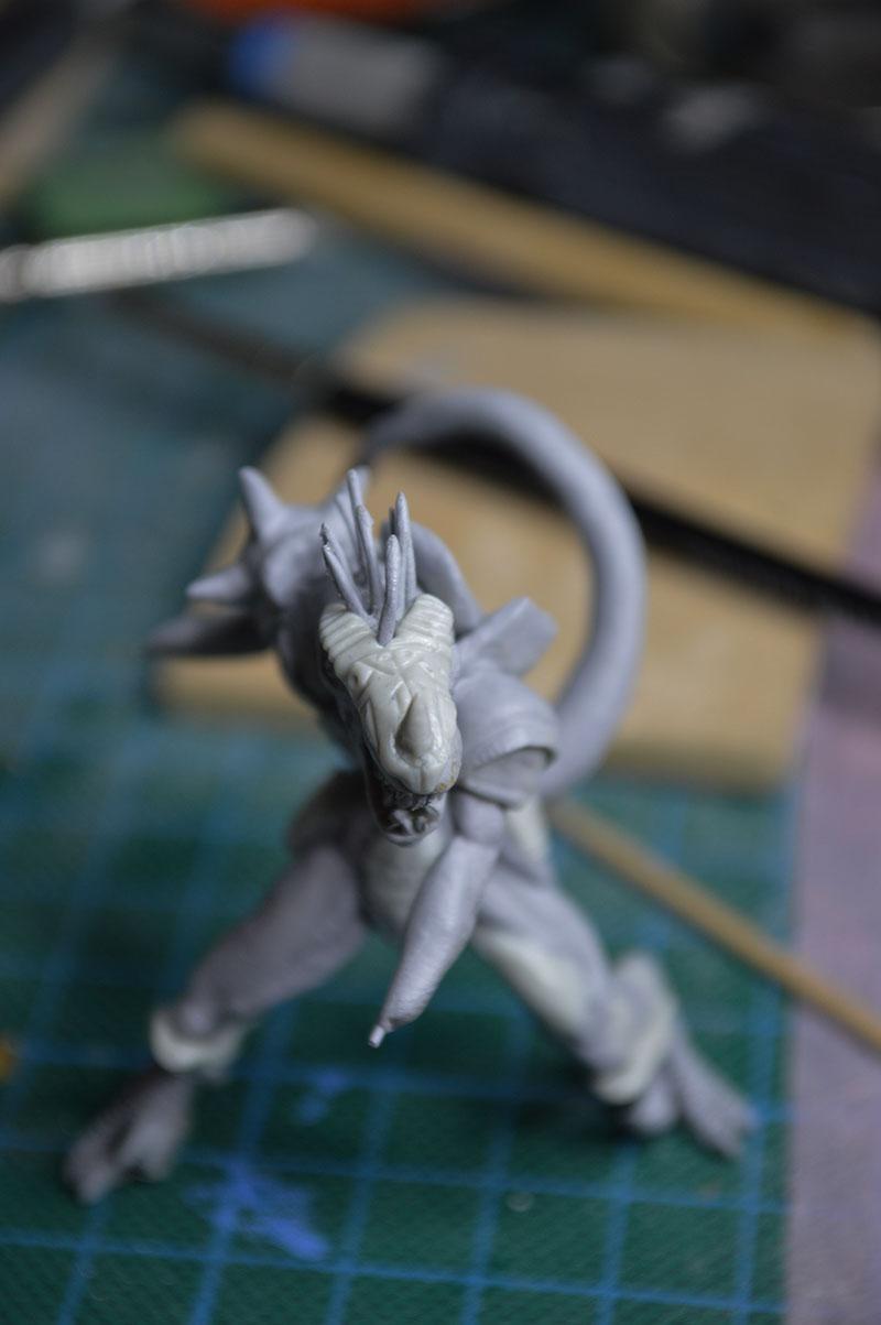 Mutant Velociraptor 6cm MiniSculpture55