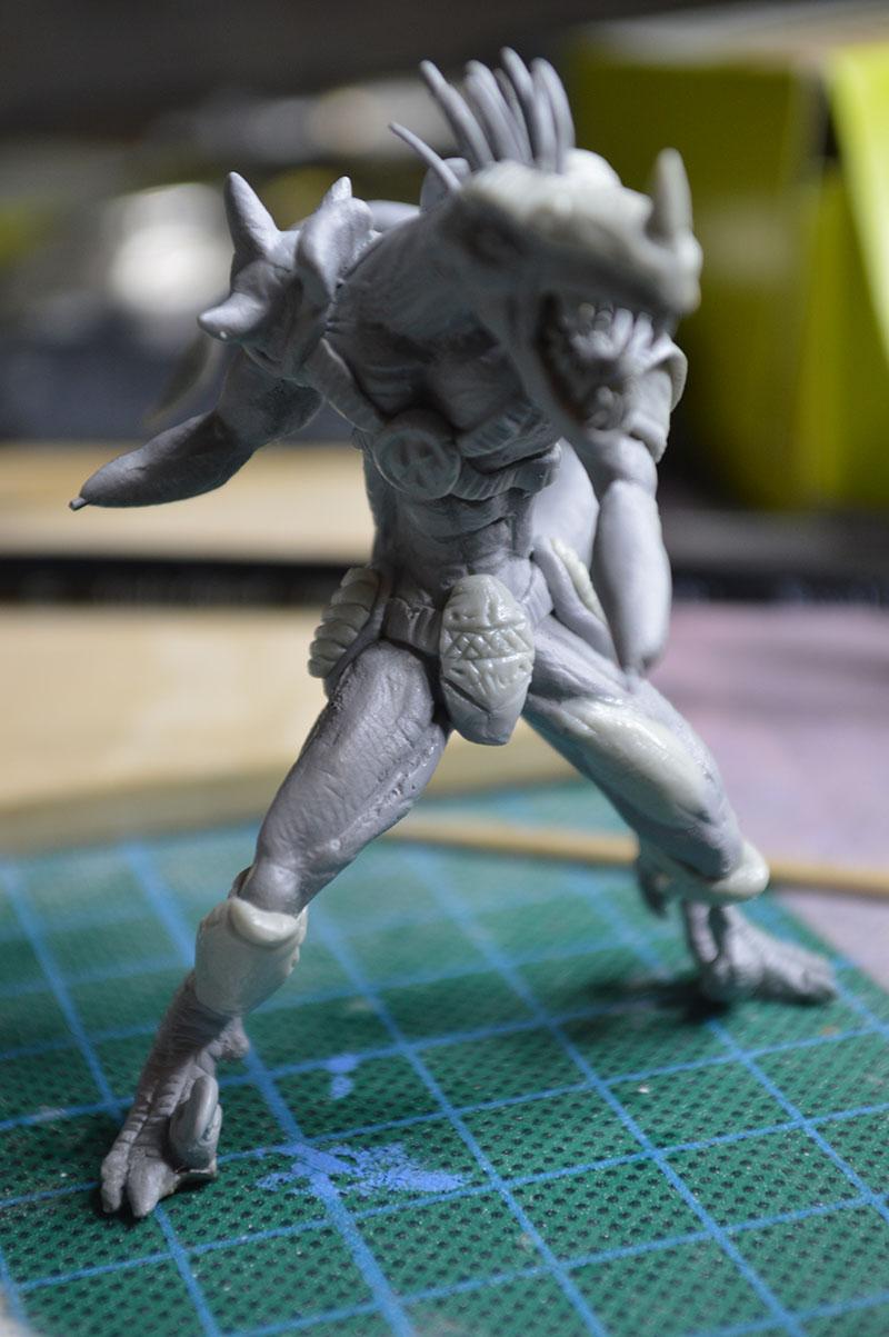 Mutant Velociraptor 6cm MiniSculpture56