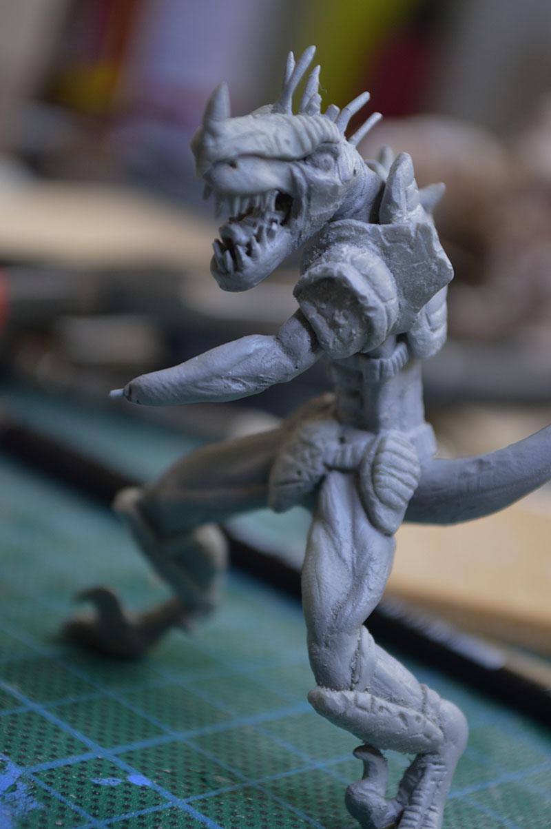 Mutant Velociraptor 6cm - Page 2 MiniSculpture60