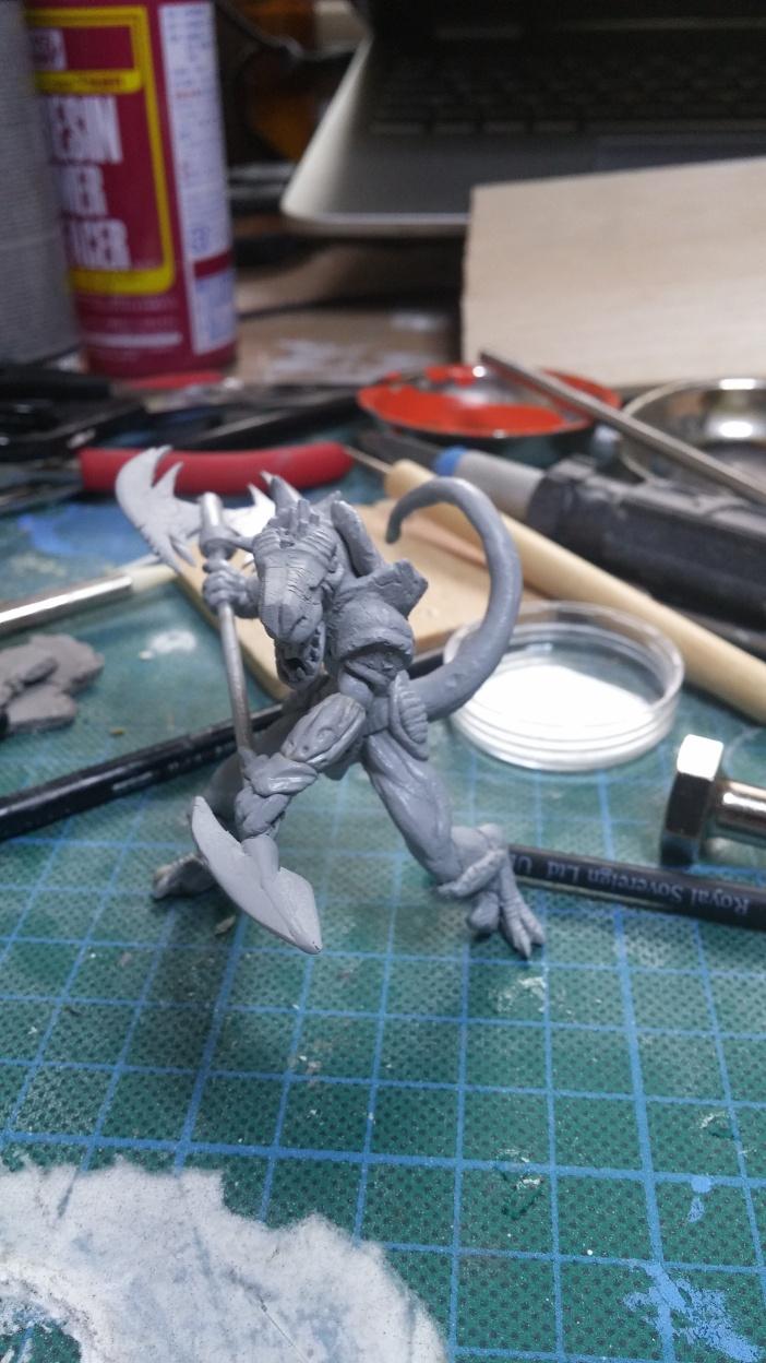 Mutant Velociraptor 6cm - Page 2 MiniSculpture61