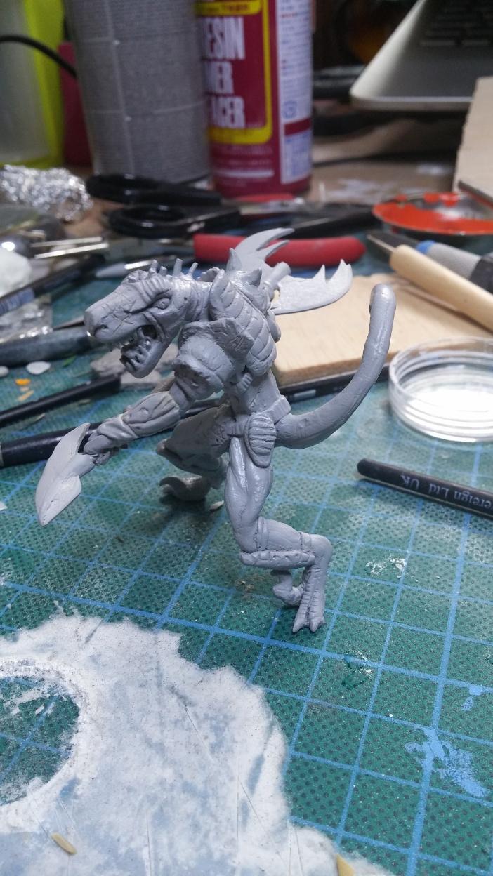 Mutant Velociraptor 6cm - Page 2 MiniSculpture62