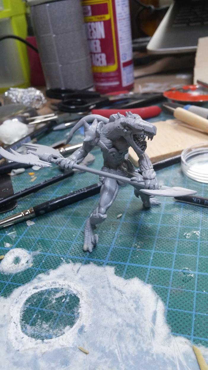 Mutant Velociraptor 6cm - Page 2 MiniSculpture64
