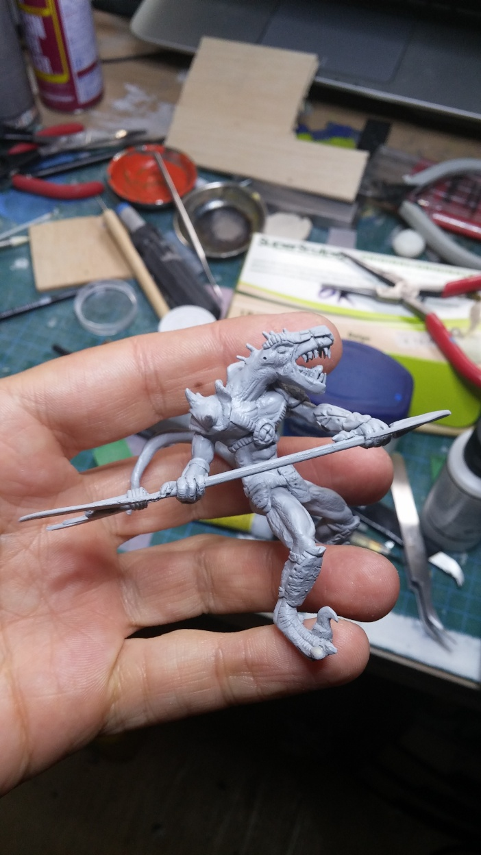 Mutant Velociraptor 6cm - Page 2 MiniSculpture68